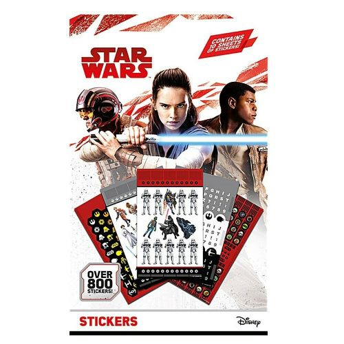 Star Wars Classic 800 Stickers Set Decals